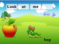 Screenshot of a sample Reading Eggs lesson plan